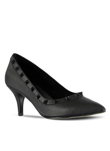 İnce Topuklu Sivri Burun Ayakkabı-Marjin